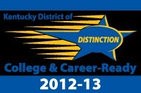 District of Distinction 2012 - 13